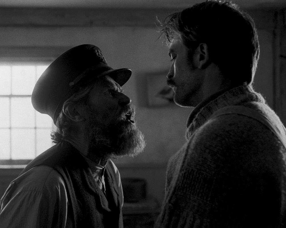 Willem Dafoe and Robert Pattinson