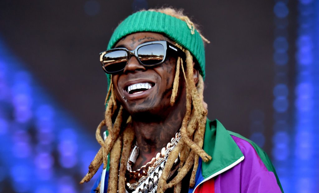 Lil Wayne at a concert in 2019