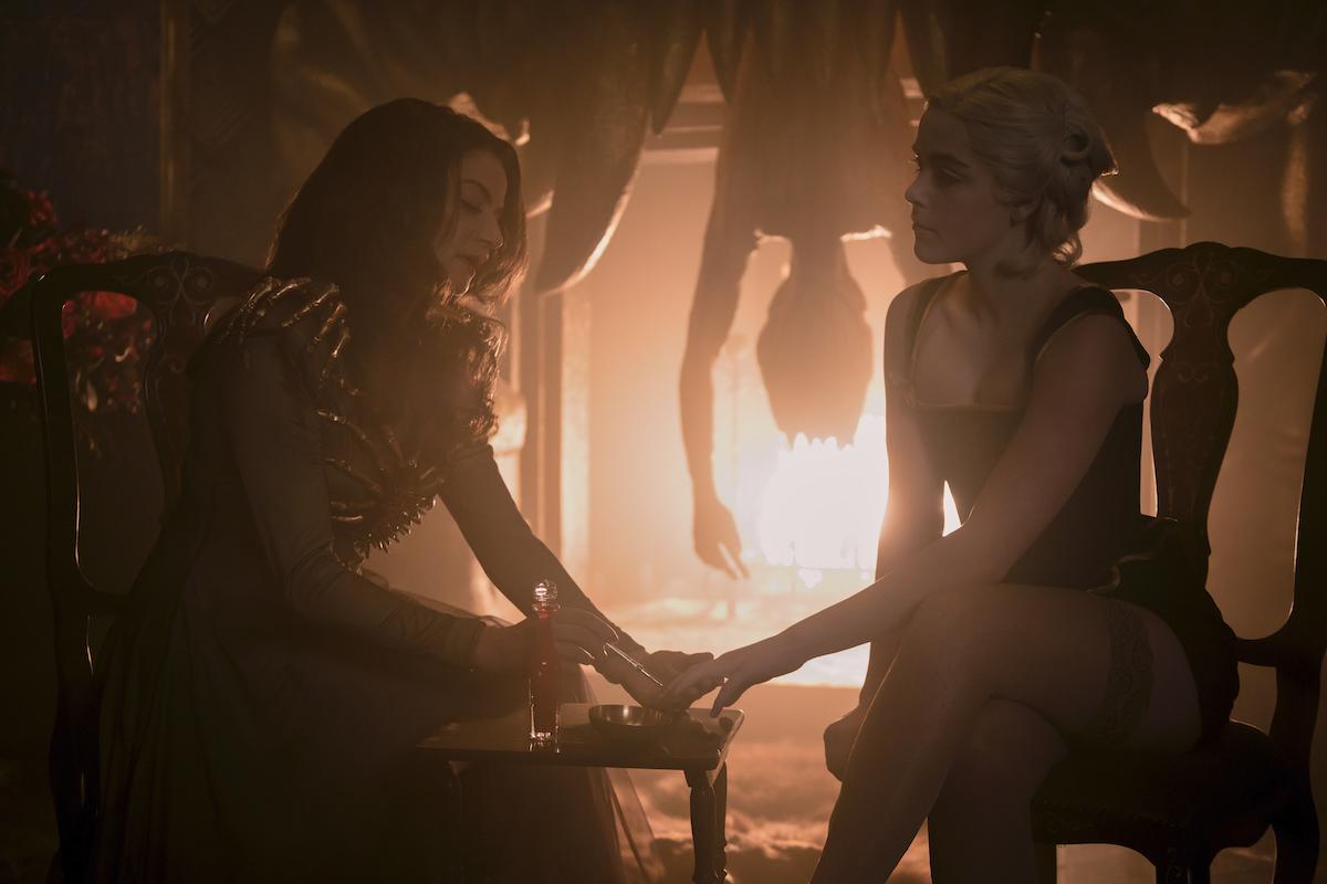 Lilith, aka Madame Satan, and Sabrina in Hell, Part 3 of 'CHILLING ADVENTURES OF SABRINA.'