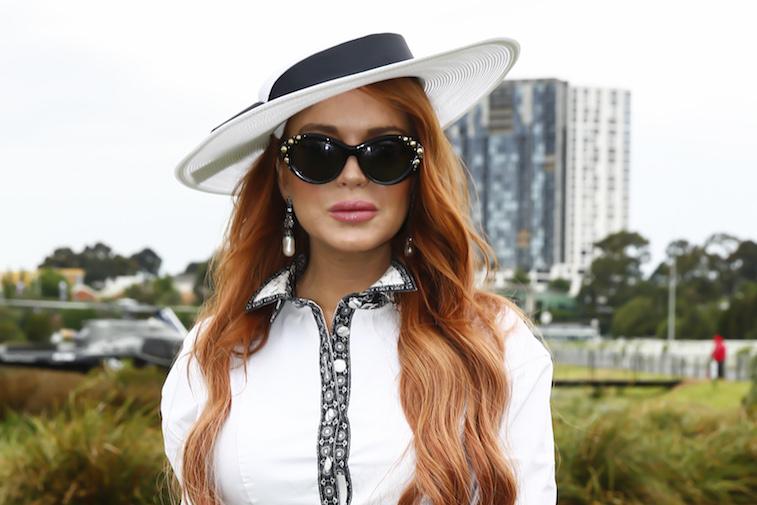 Lindsay Lohan in Australia