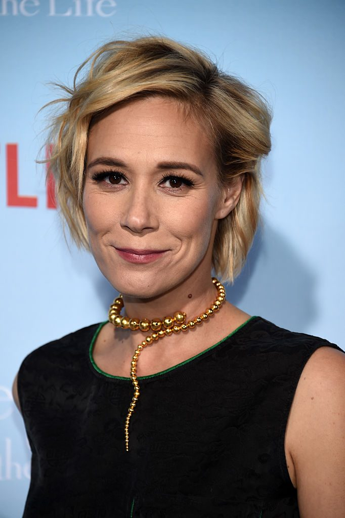 """Liza Weil arrives at the premiere of Netflix's """"Gilmore Girls: A Year In The Life"""" at the Regency Bruin Theatre"""