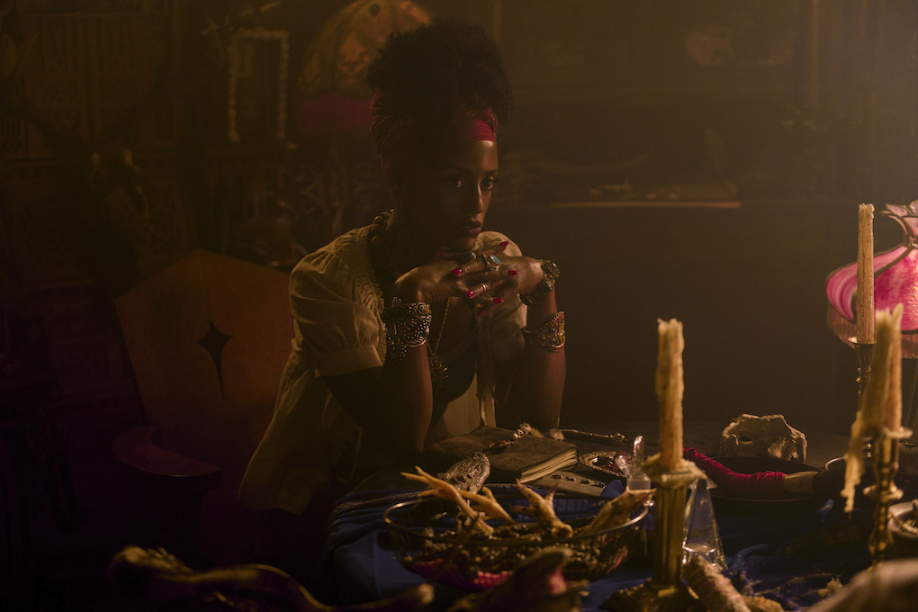 Mambo Marie, a Haitian voodoo priestess from New Orleans, 'CHILLING ADVENTURES OF SABRINA.'