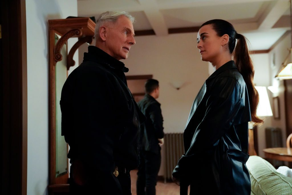 Mark Harmon and Cote de Pablo on NCIS. |  Greg Gayne/CBS via Getty Images