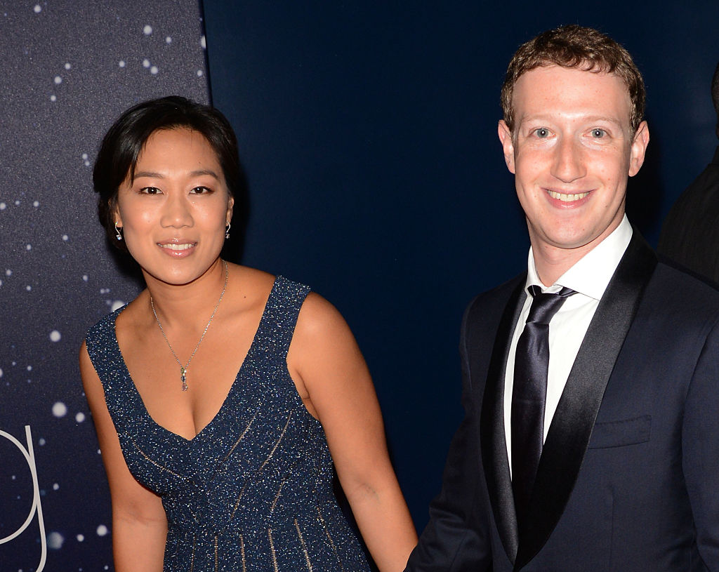 Priscilla Chan and Mark Zueckerberg