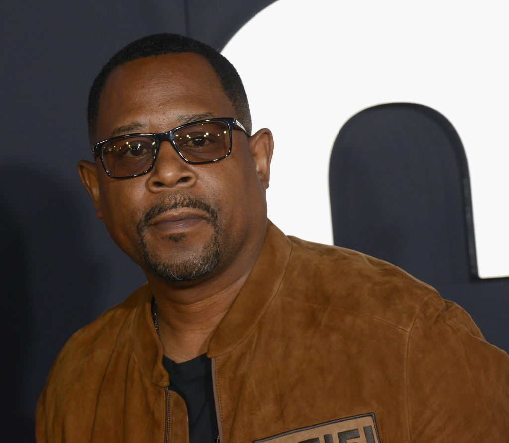 Martin Lawrence on the red carpet in 2019