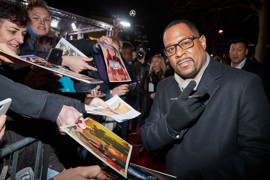 Martin Lawrence at a press event for Bad Boys for Life | Sebastian Reuter/Getty Images for Sony Pictures
