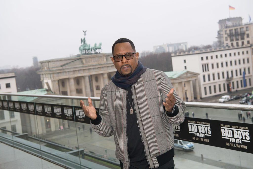 Martin Lawrence at the German Bad Boys for Life Premiere |  Jörg Carstensen/picture alliance via Getty Images