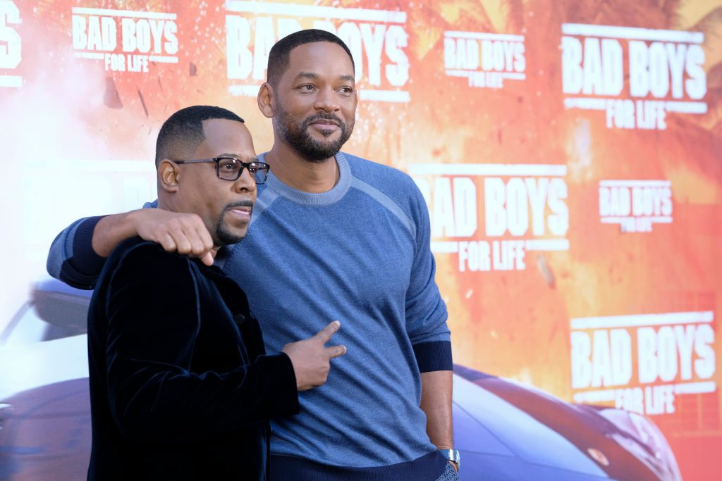 Martin Lawrence and Will Smith | Oscar Gonzalez/NurPhoto via Getty Images