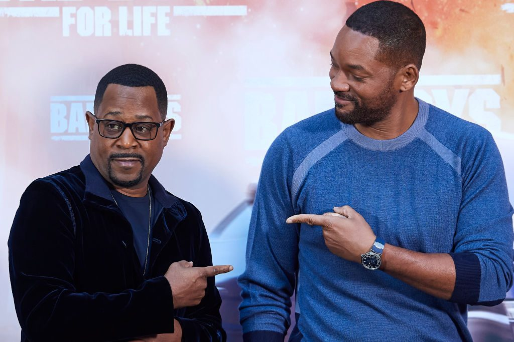 Martin Lawrence and Will Smith at an event in 2020