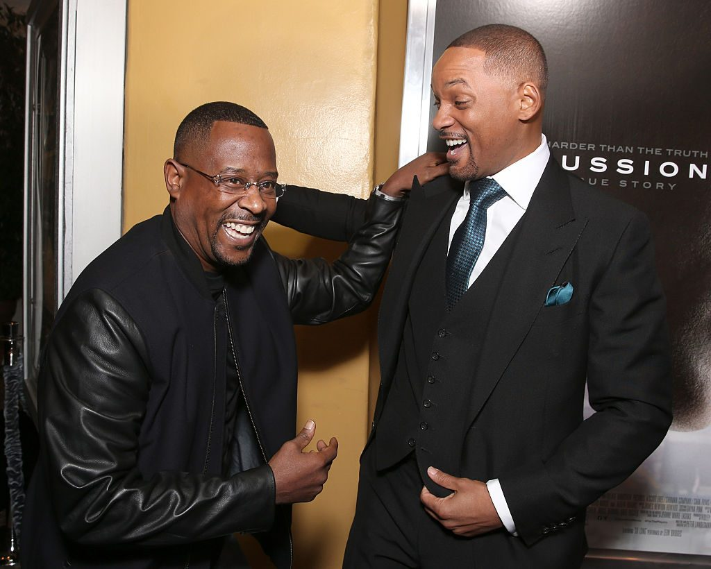Martin Lawrence and Will Smith