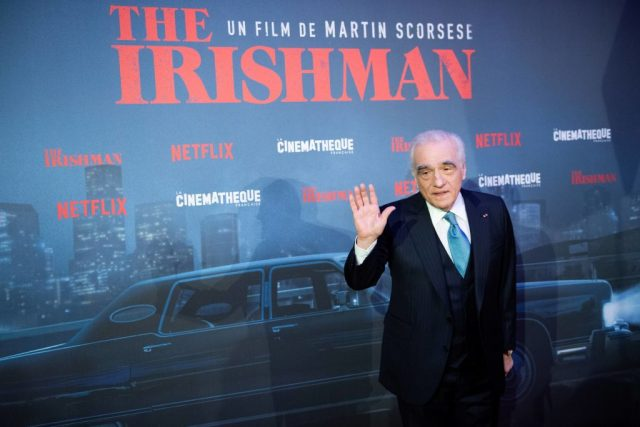 Martin Scorsese at the premiere of 'The Irishman' on Oct. 17, 2019