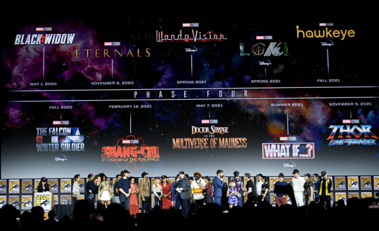 Marvel panel at SDCC