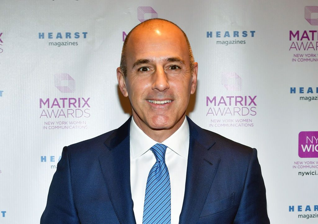 Matt Lauer at an event in 2017