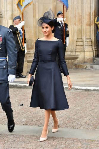 Meghan Markle on July 10, 2018, attending events to mark centenary of RAF
