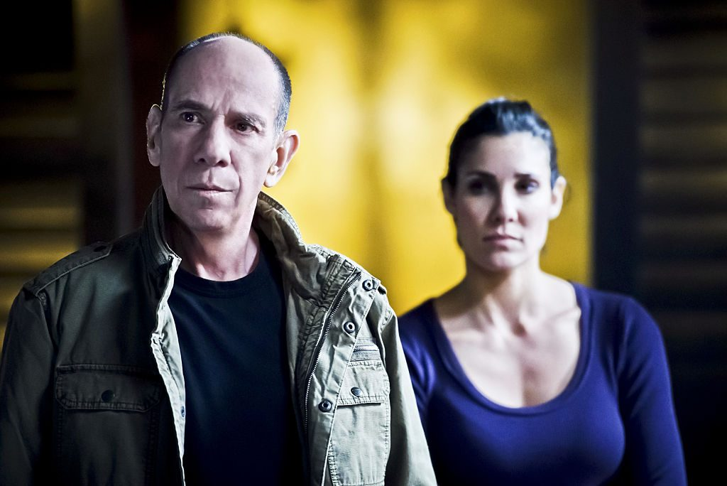 Miguel Ferrer and Daniela Ruah on NCIS: Los Angeles. |  Ron P. Jaffe/CBS via Getty Images