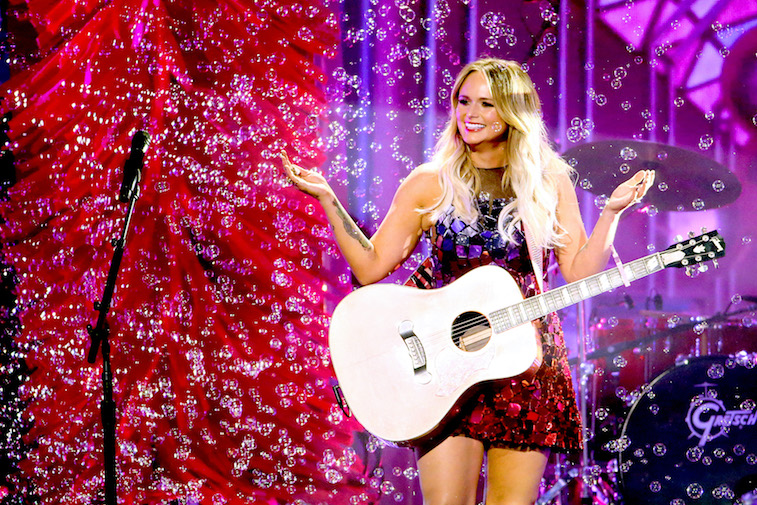 Miranda Lambert performs on stage