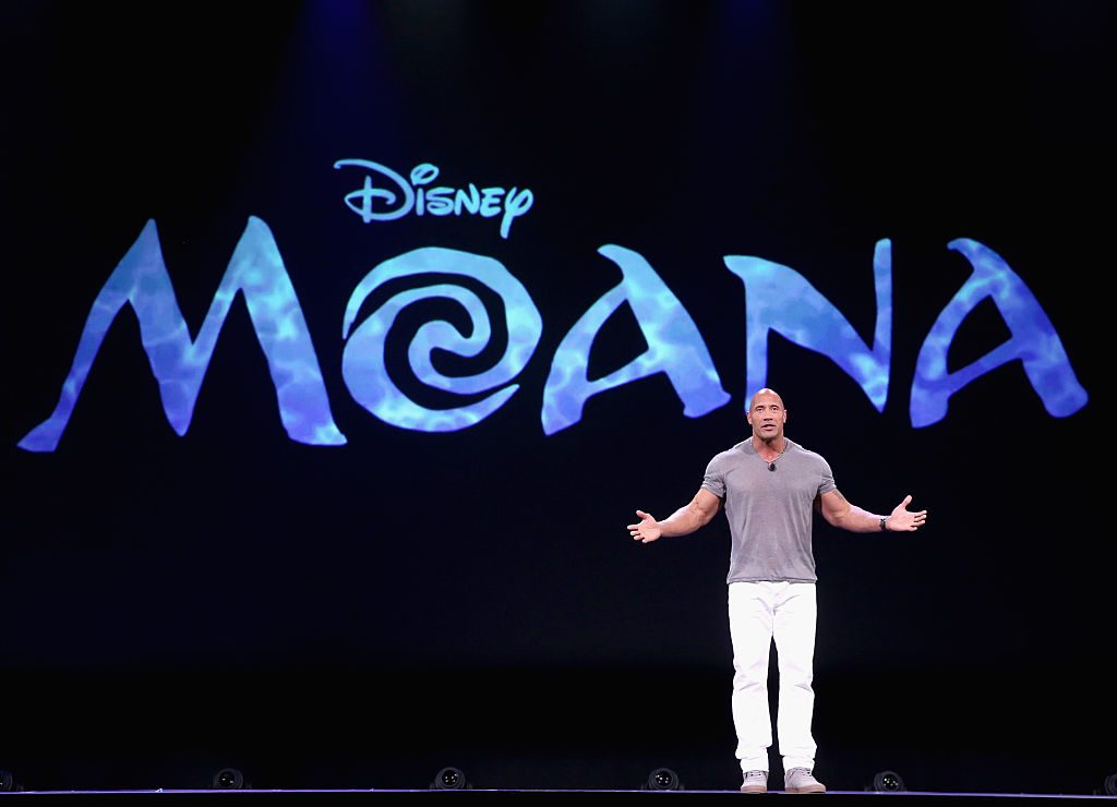 Actor Dwayne Johnson of 'MOANA'