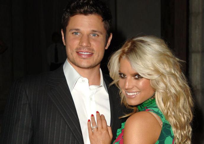 Nick Lachey and Jessica Simpson