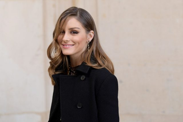 Olivia Palermo arrives at the Christian Dior show as part of the Paris Fashion Week on February 26, 2019