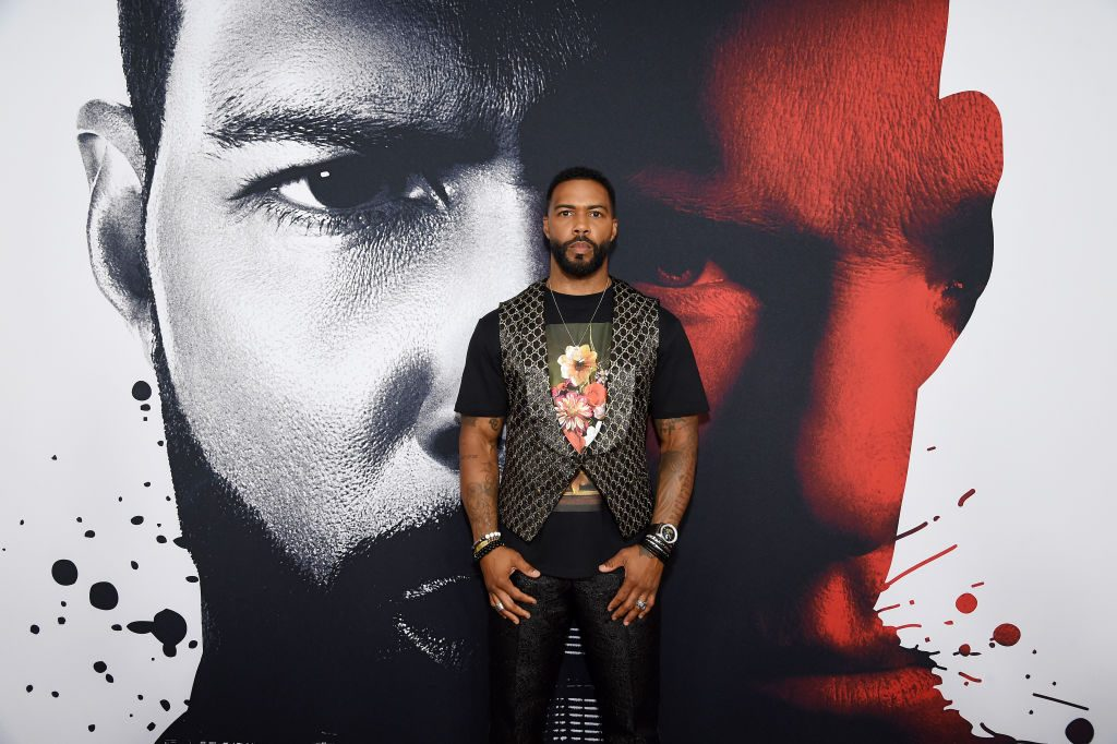Omari Hardwick on the red carpet