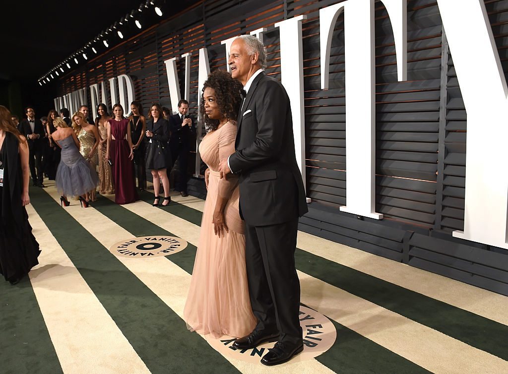 Oprah Winfrey and Stedman Graham at the Vanity Fair Oscar Party   Larry Busacca/VF15/Getty Images