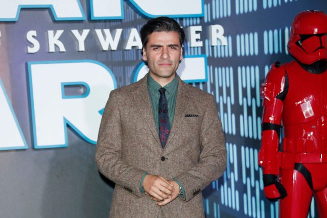 Oscar Isaac at the European premiere of 'Star Wars: The Rise of Skywalker'