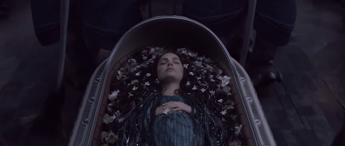 Padmé Amidala's funeral in 'Revenge of the Sith.'
