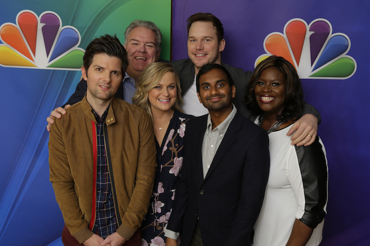 The cast of 'Parks and Rec'