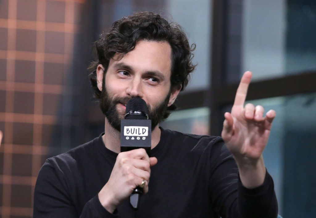 Penn Badgley, star of 'You,' appearing to discuss his new show at the Build Series