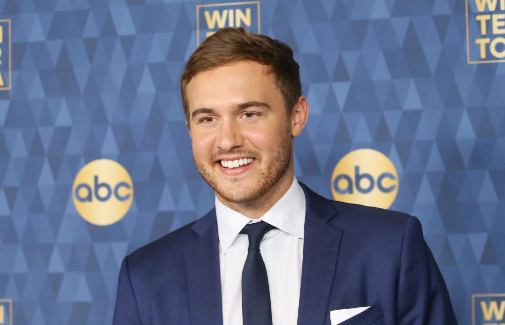 Peter Weber attends ABC Television's Winter Press Tour 2020 held at The Langham Huntington, Pasadena on January 08, 2020 in Pasadena, California.