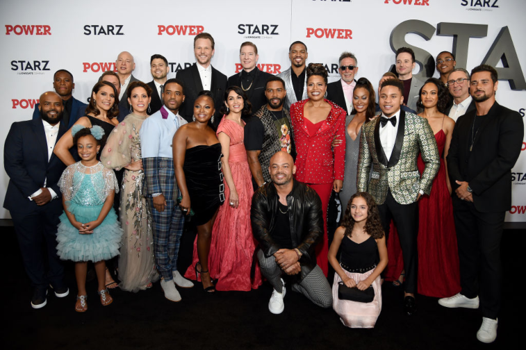 Cast and crew of 'Power'