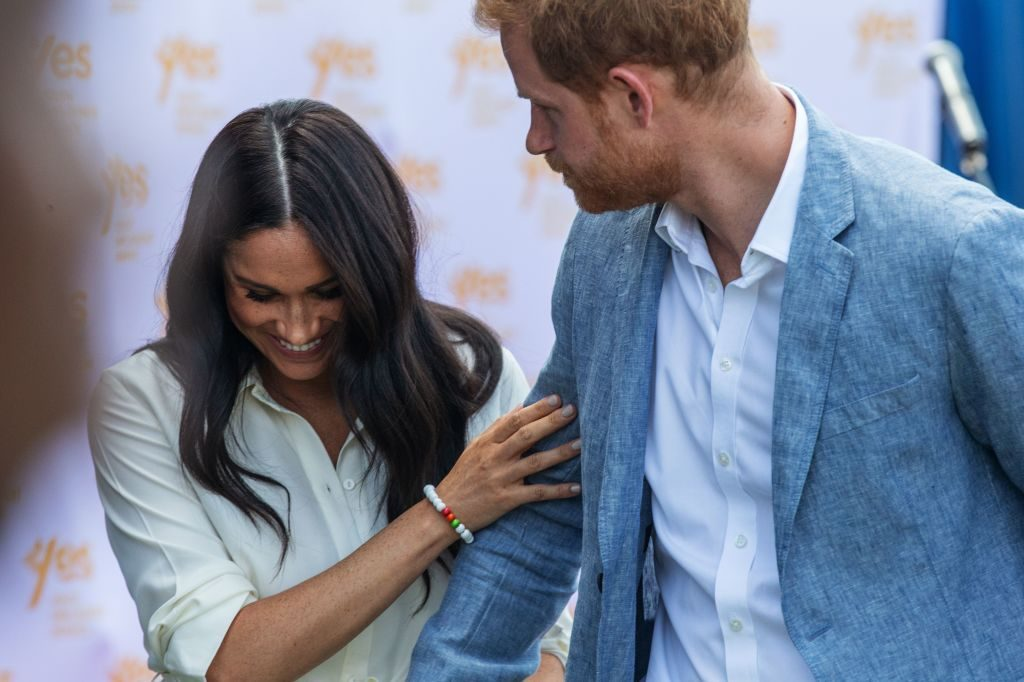 Prince Harry and Meghan Markle in Johannesburg, South Africa