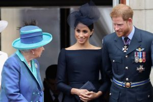 Queen Elizabeth Just Quietly Hinted That She Doesn't Need Prince Harry and Meghan Markle