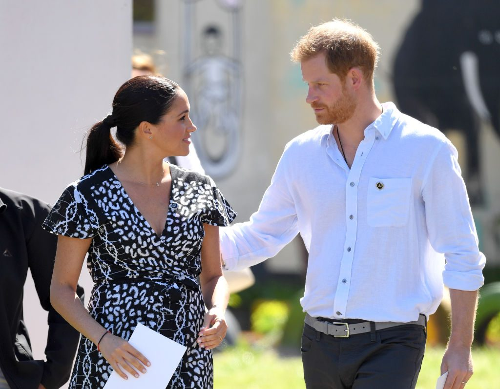 Prince Harry and Meghan Markle protection