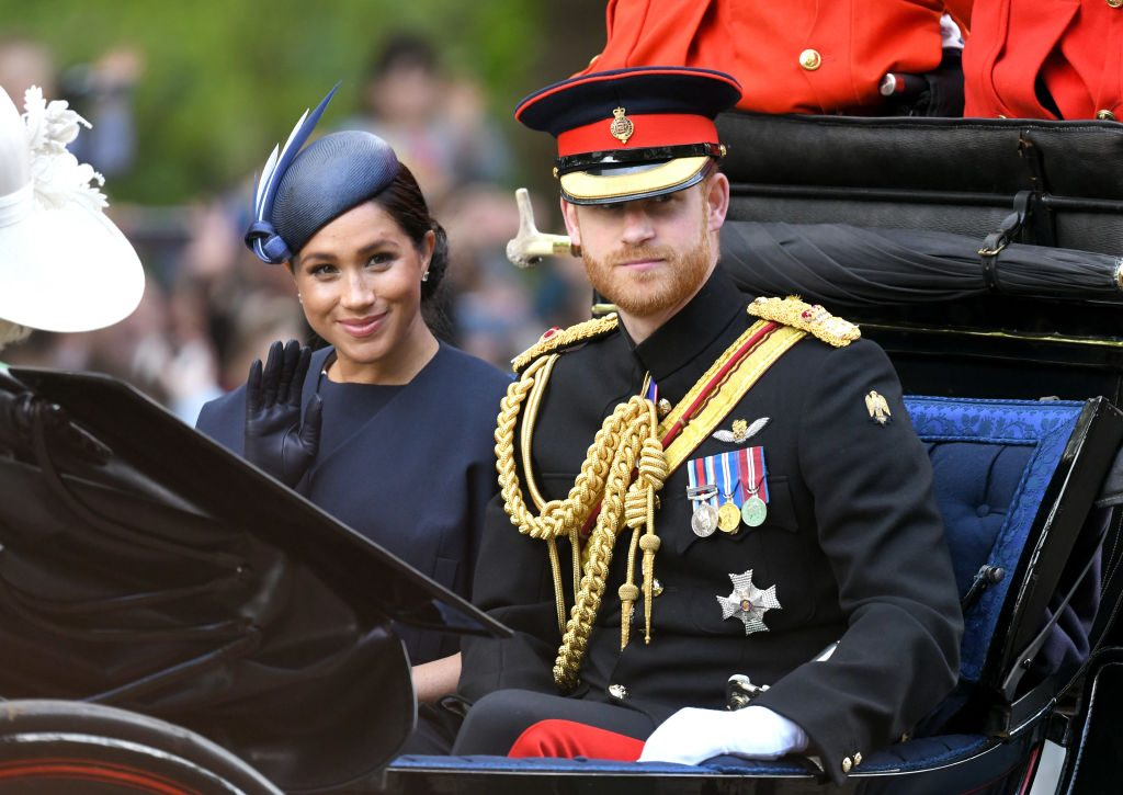 Prince Harry and Meghan Markle queen