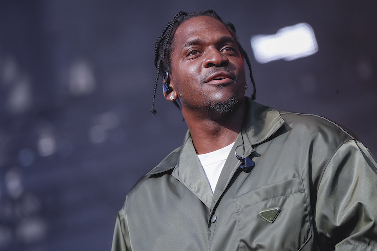Pusha T performs onstage