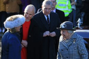 Queen Elizabeth Steps Out With Her 'Rock'  Prince Andrew After Prince Harry and Meghan Markle Announcement