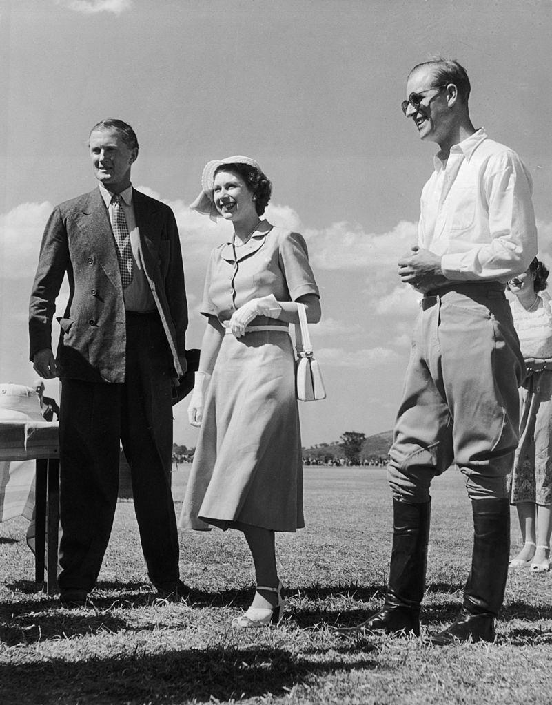 Queen Elizabeth and Prince Philip in Kenya