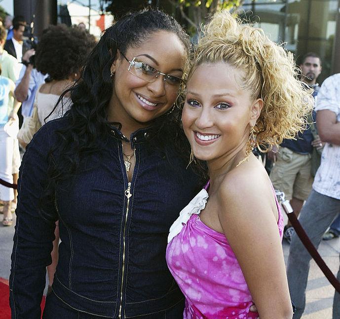 Raven Symoné and Adrienne Bailon
