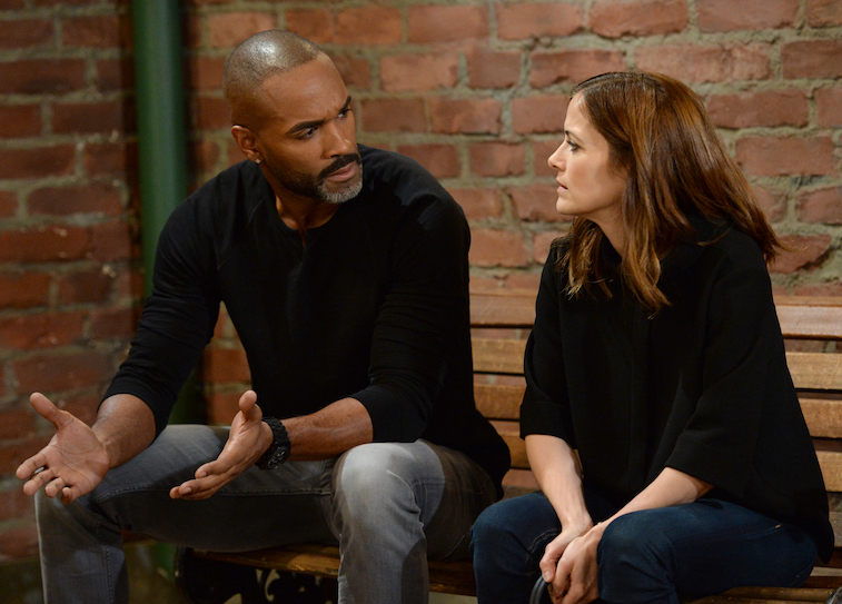 DONNELL TURNER, REBECCA BUDIG on General Hospital