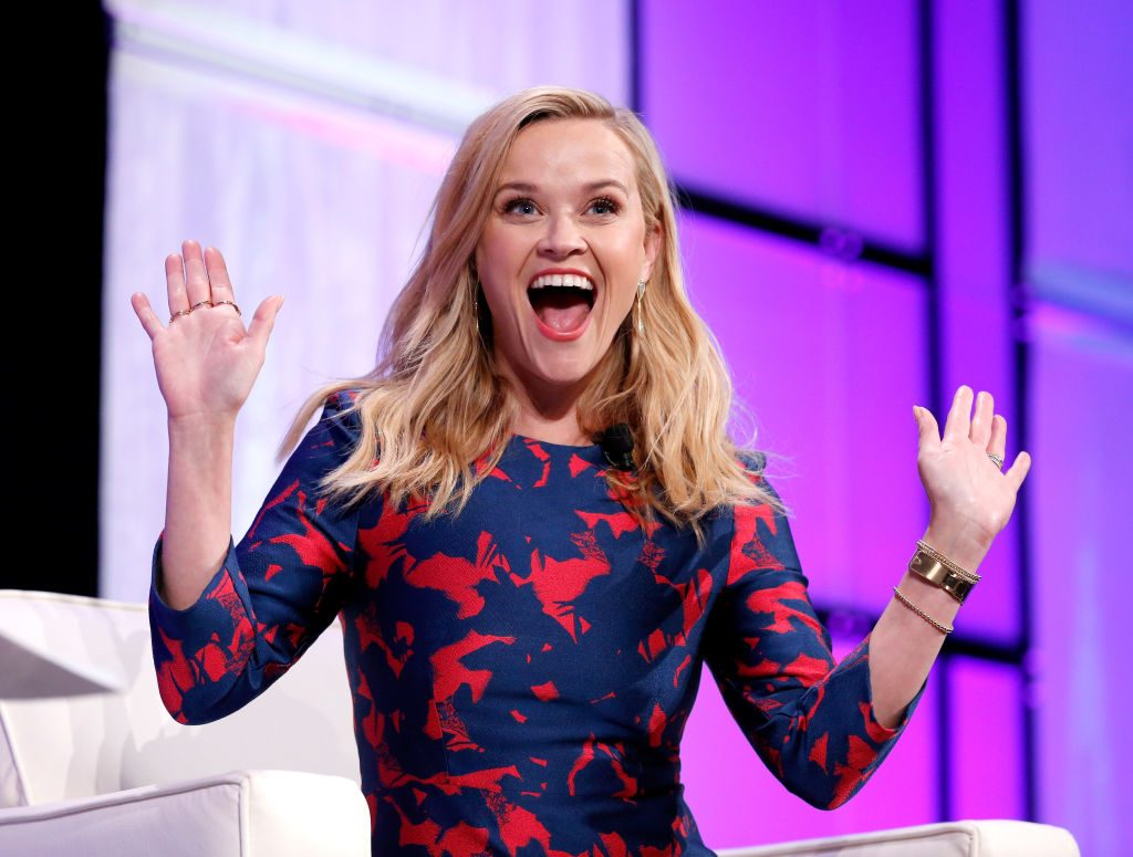 Reese Witherspoon, fan of 'Cheer'