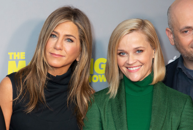 Jennifer Aniston and Reese Witherspoon on the red carpet