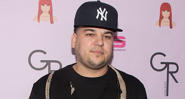 Rob Kardashian at an event in 2016
