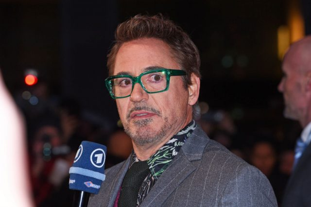 Robert Downey Jr. at the premiere of 'Dolittle'