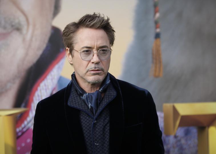 Robert Downey Jr on the red carpet