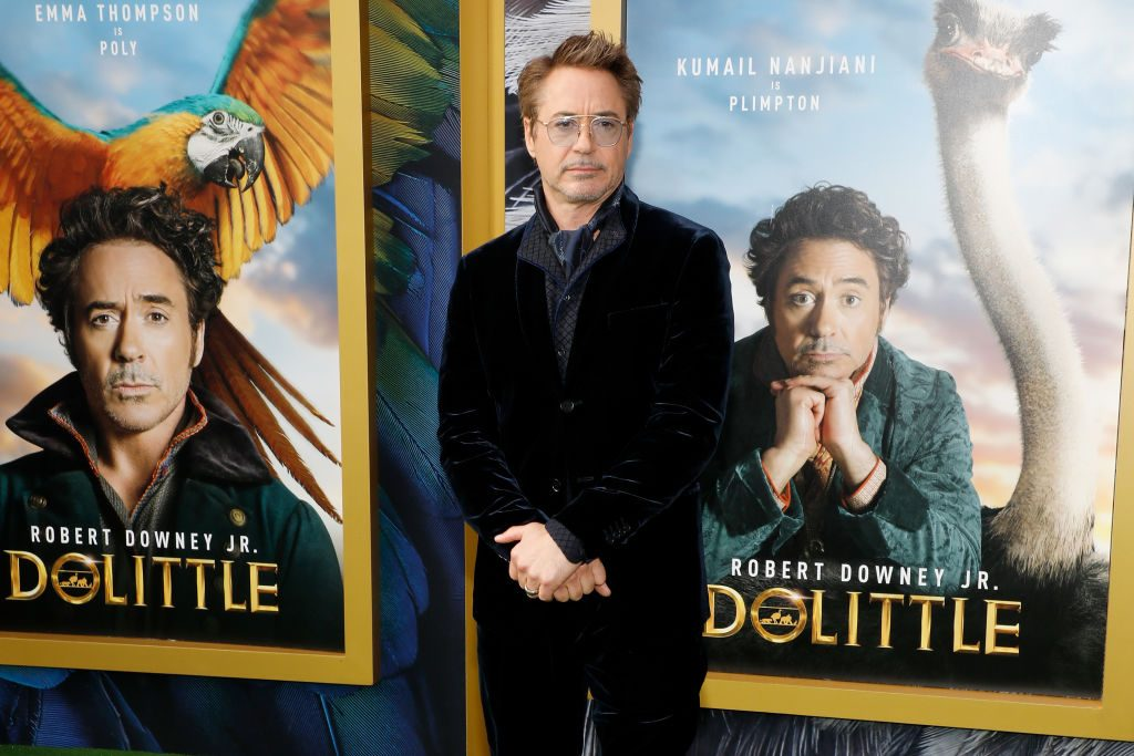 """Robert Downey Jr. attends the world premiere of """"Dolittle.""""   Taylor Hill/WireImage"""