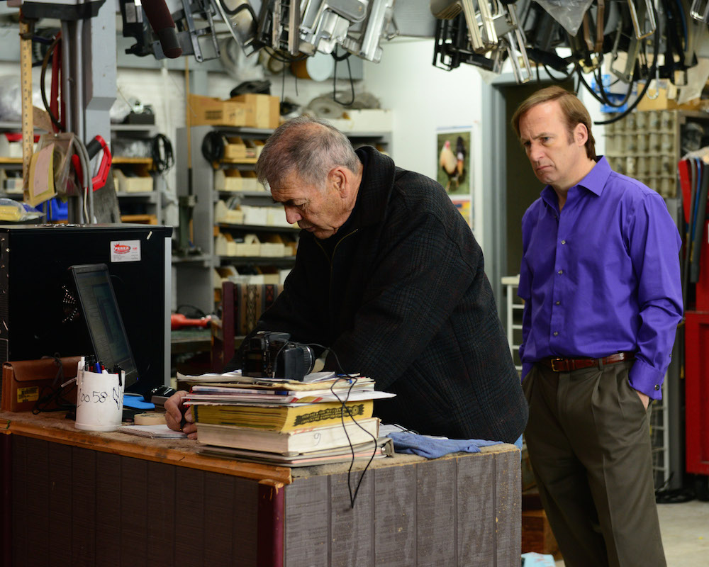 Robert Forster and Bob Odenkirk