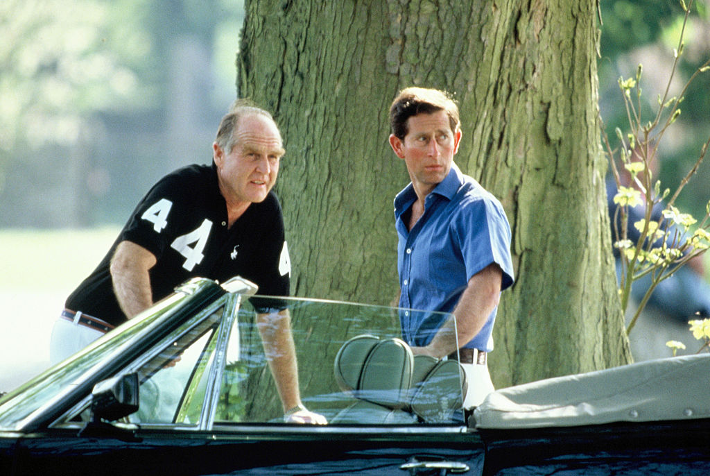 Ronald Ferguson and Prince Charles