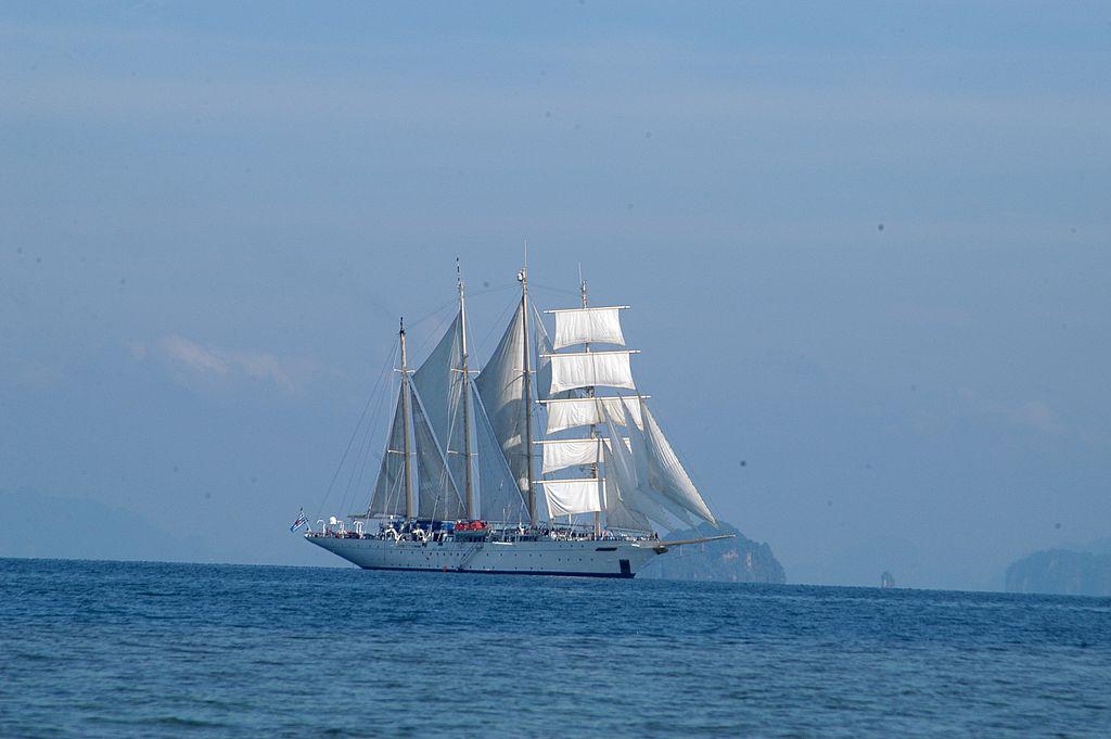 """Luxus-4-Mast-Segelyacht """"Star Flyer"""""""
