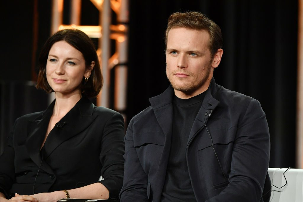 Outlander: Sam Hueghan and Caitriona Balfe
